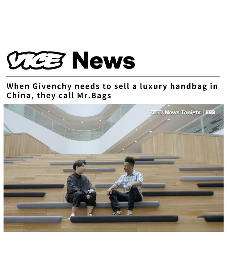VICE News Tonight on HBO Mr. Bags