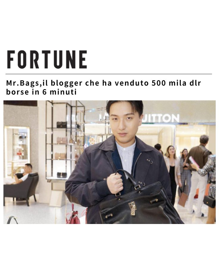 Fortune Italia Mr Bags