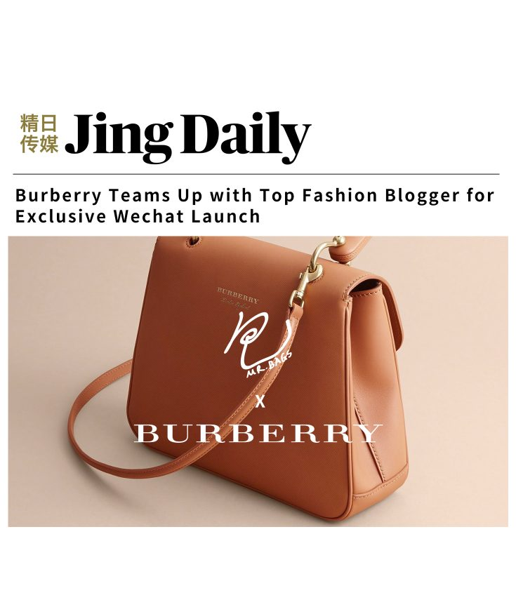 mr bags Burberry Jing daily